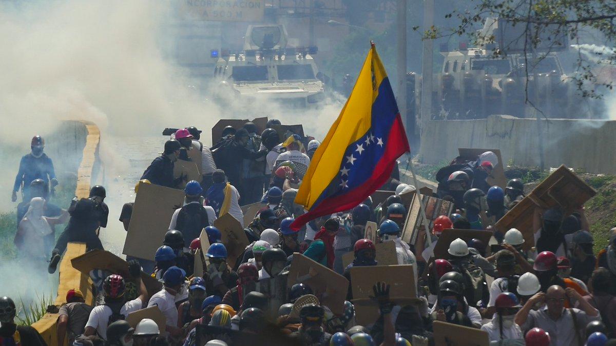México condenó los hechos violentos y la represión en Venezuela