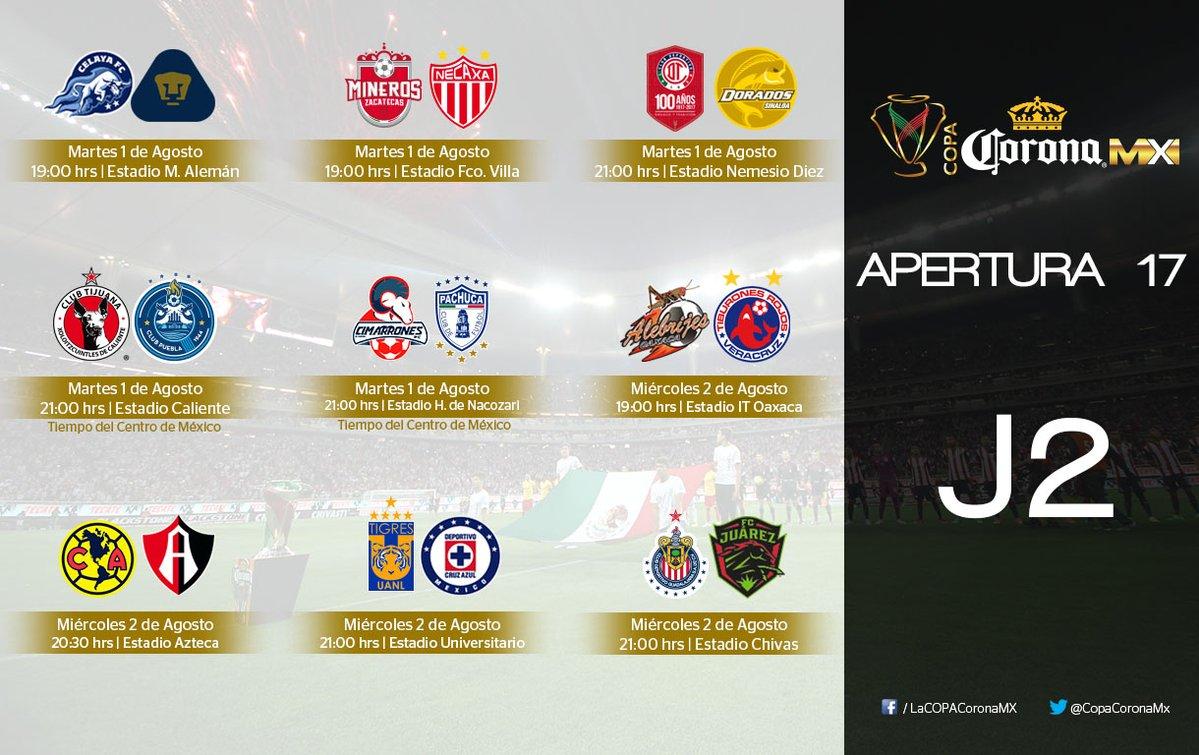 9 equipos harán su debut en el Apertura 2017 de la Copa Mx