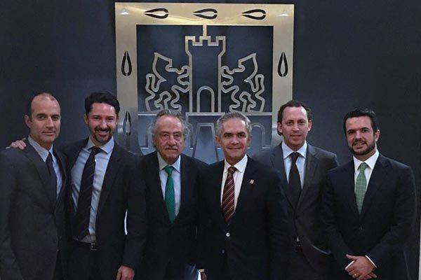 Directivos de la FMF y Miguen Ángel Mancera se reunieron el pasado jueves