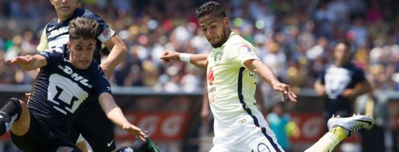 América vs Pumas, uno de los duelos más pasionales de la Liga MX.