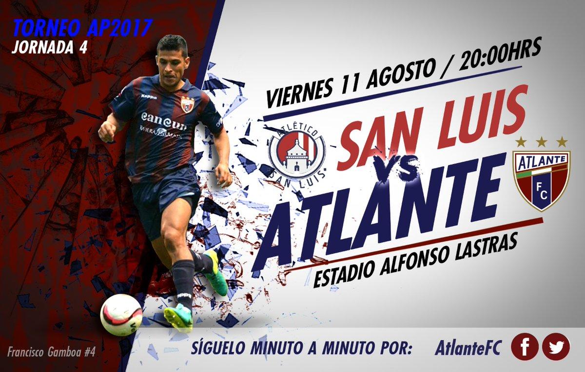 San Luis recibe al Atlante en la Jornada 4 del Ascenso Mx