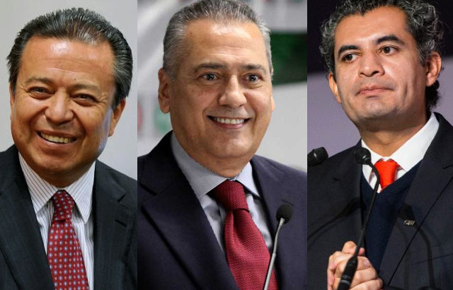 El PRI ha tenido tres dirigentes en el actual sexenio: César Camacho, Manlio Fabio Beltrones y Enrique Ochoa Reza.