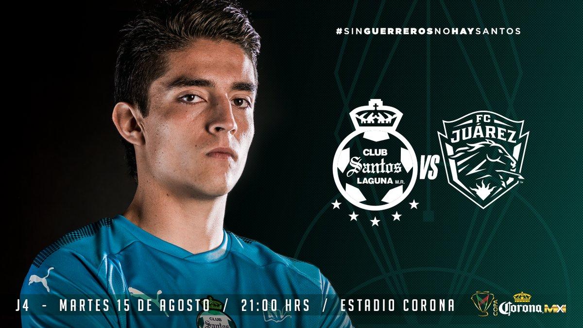Santos y Juárez se ven las caras en la Copa Mx