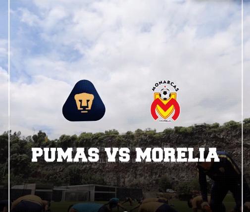 Pumas recibe a Monarcas en Ciudad Universitaria