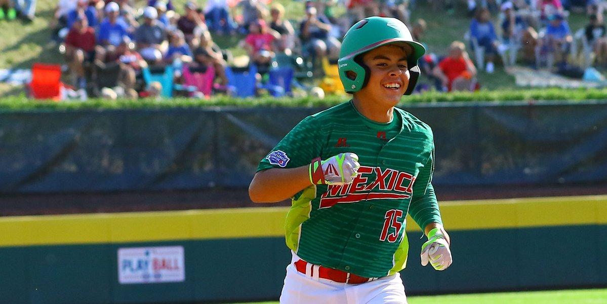 México enfrenta a Carolina del Norte por el tercer lugar del Mundial de Pequeñas Ligas
