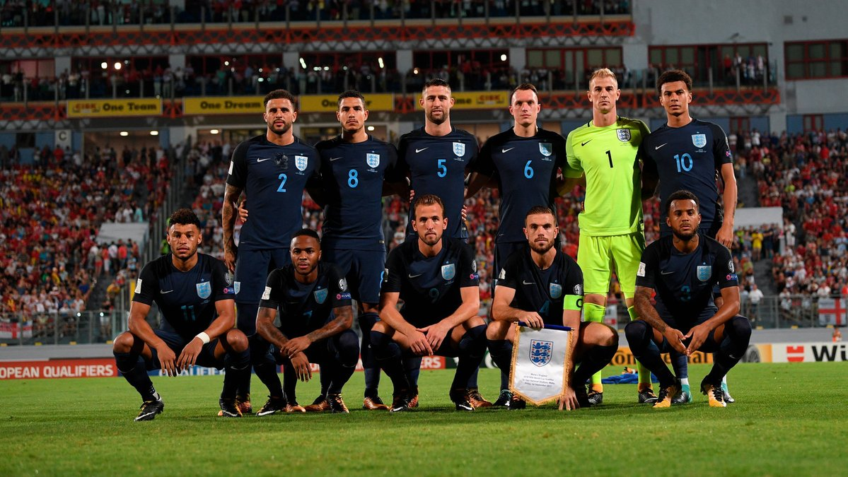 Inglaterra busca una victoria que lo acerque más a Rusia 2018
