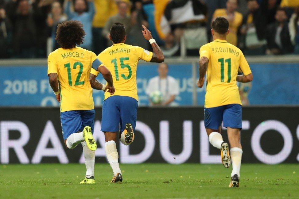 Brasil y Colombia se enfrentan en las eliminatorias rumbo a Rusia 2018