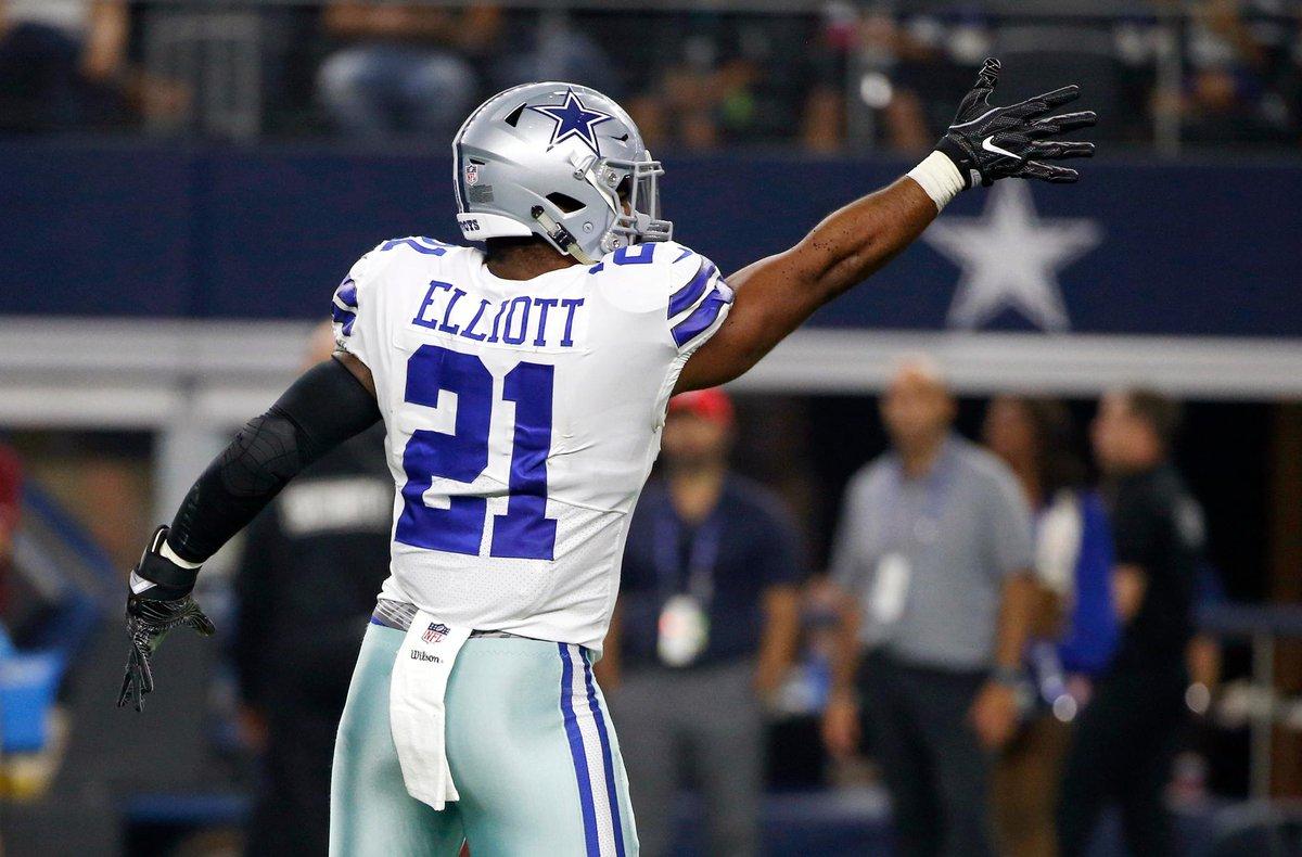 Cowboys y Giants se enfrentan en el arranque de la temporada