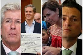 La investigación periodística involucra a personajes como Gerardo Ruiz Esparza, Alfredo del Mazo, Rosario Robles y Emilio Lozoya.
