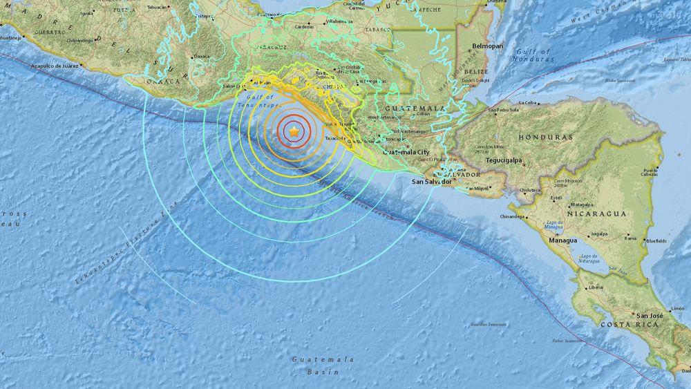 Alerta de tsunami en México