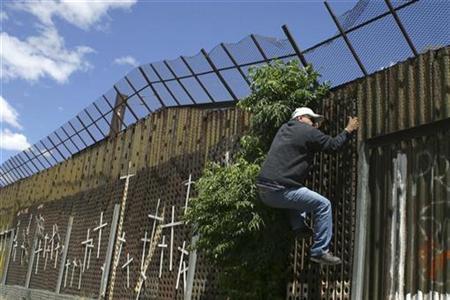 Solo 13% de los mexicanos se animaría a cruzar la frontera sin tener documentos.