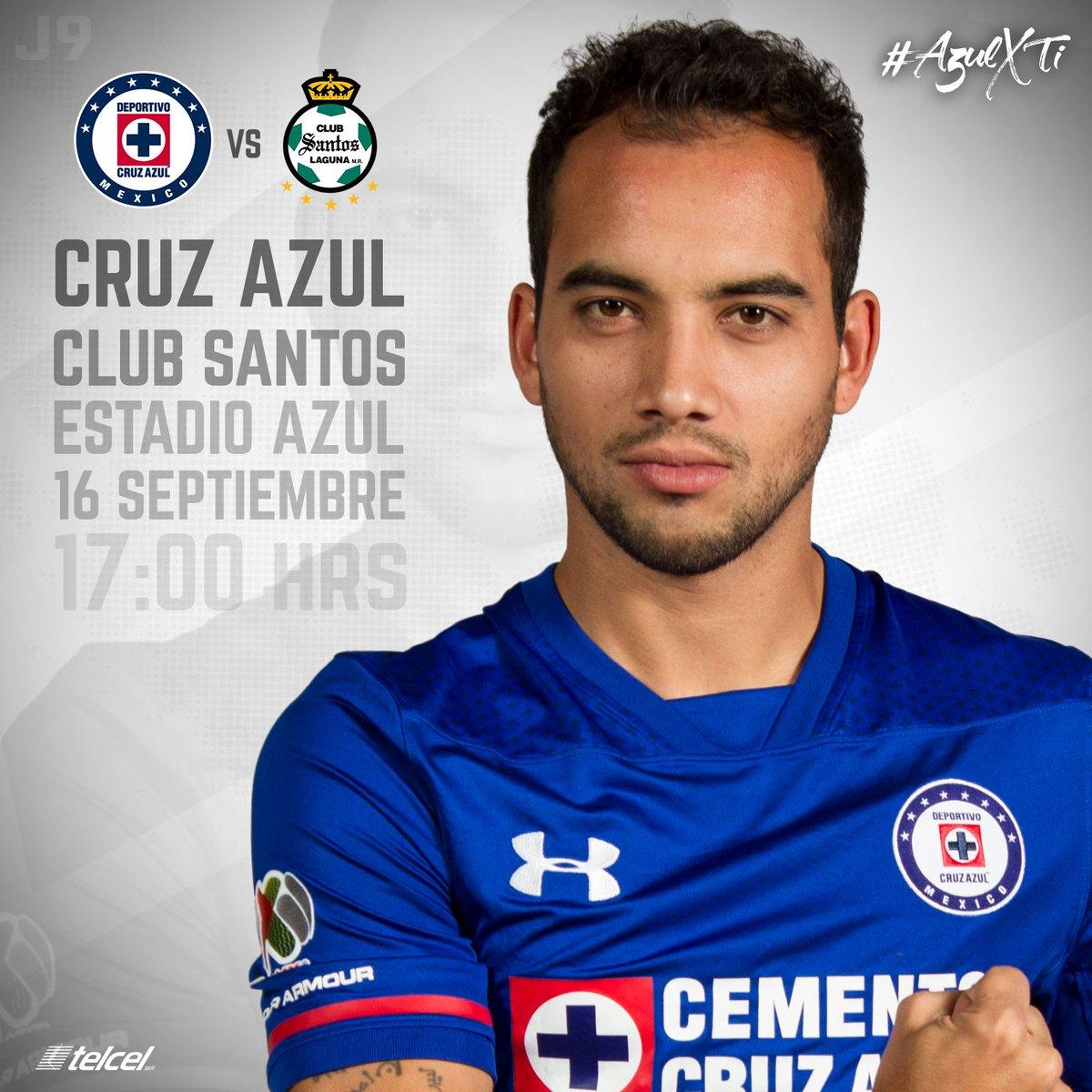 Cruz Azul recibe a Santos en la Jornada 9 del Apertura 2017