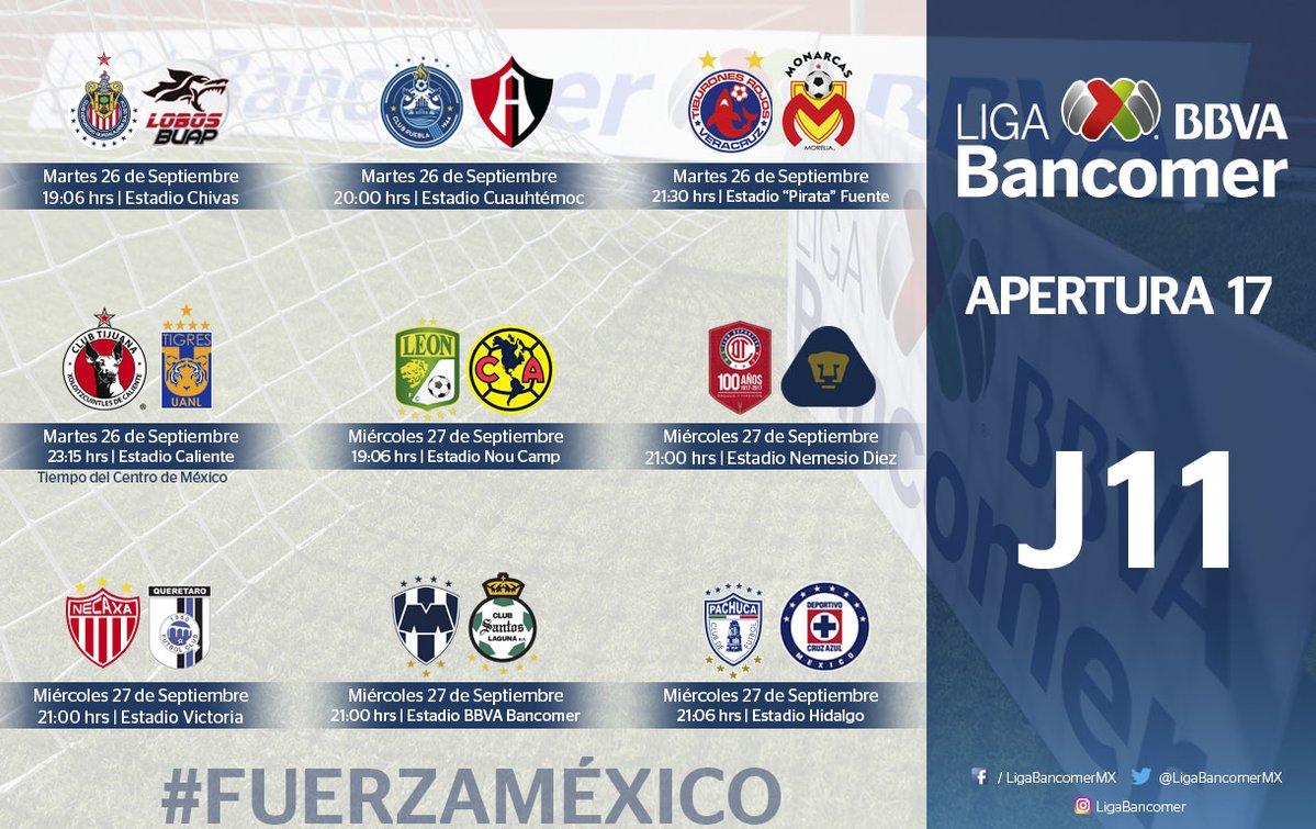 La Jornada 11 se desarrollará tras garantizar la seguridad de los estadios