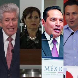 Colaboradores cercanos al presidente Peña Nieto han sido señalados de irregularidades.