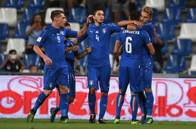 La Squadra Azzurra esta muy cerca de conseguir el pase a Rusia 2018