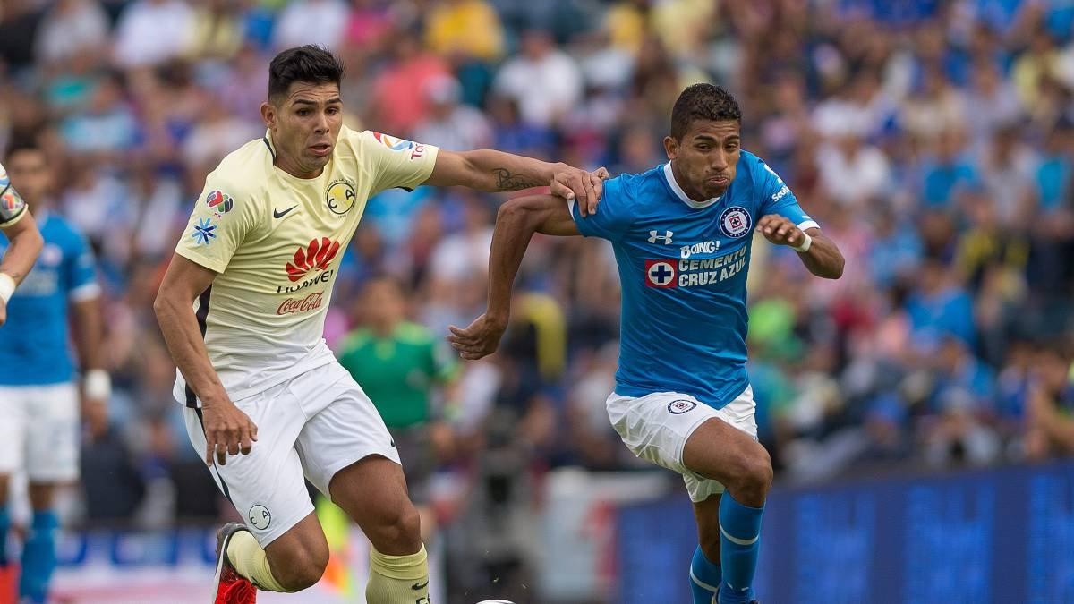 Cruz Azul ha perdido 4 de los últimos 5 partidos ante América