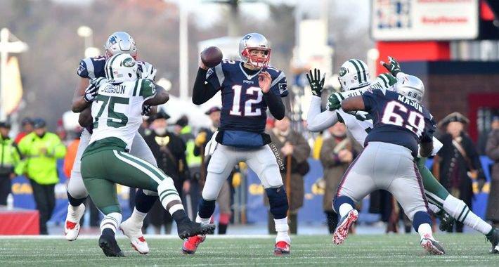 Patriots y Jets buscan el liderato del Este de la AFC
