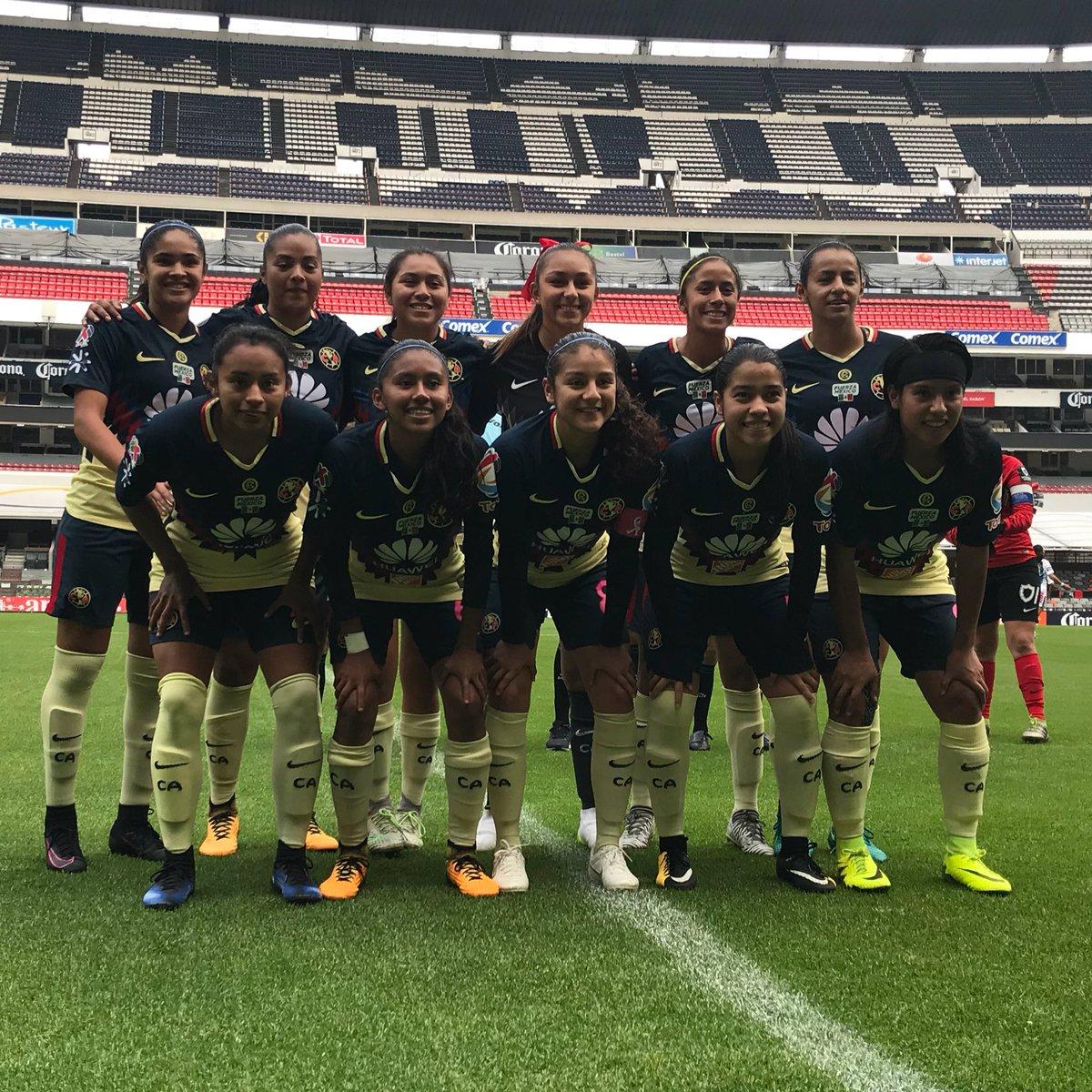 América quiere mantener el liderato del Grupo 1 de la Liga Femenil
