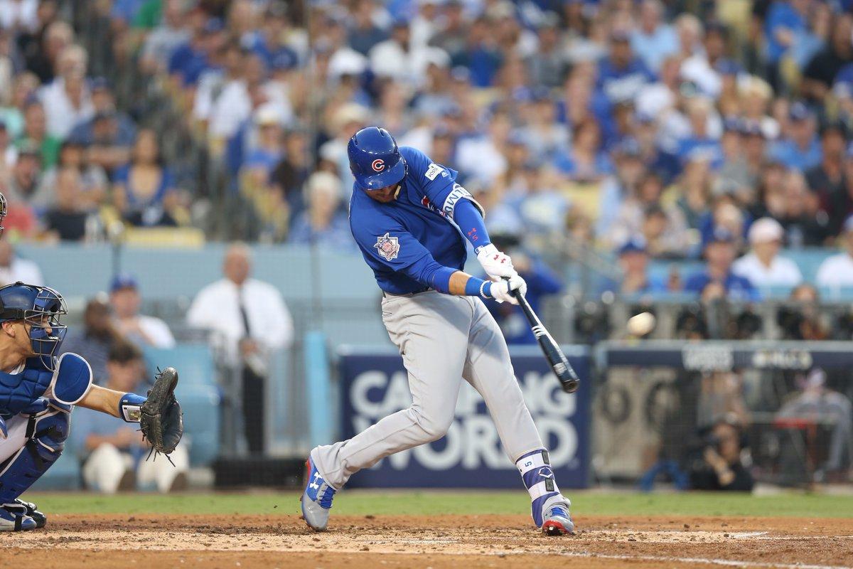 Cubs recibe a los Dodgers en el Juego 3 de las Series de Campeonato