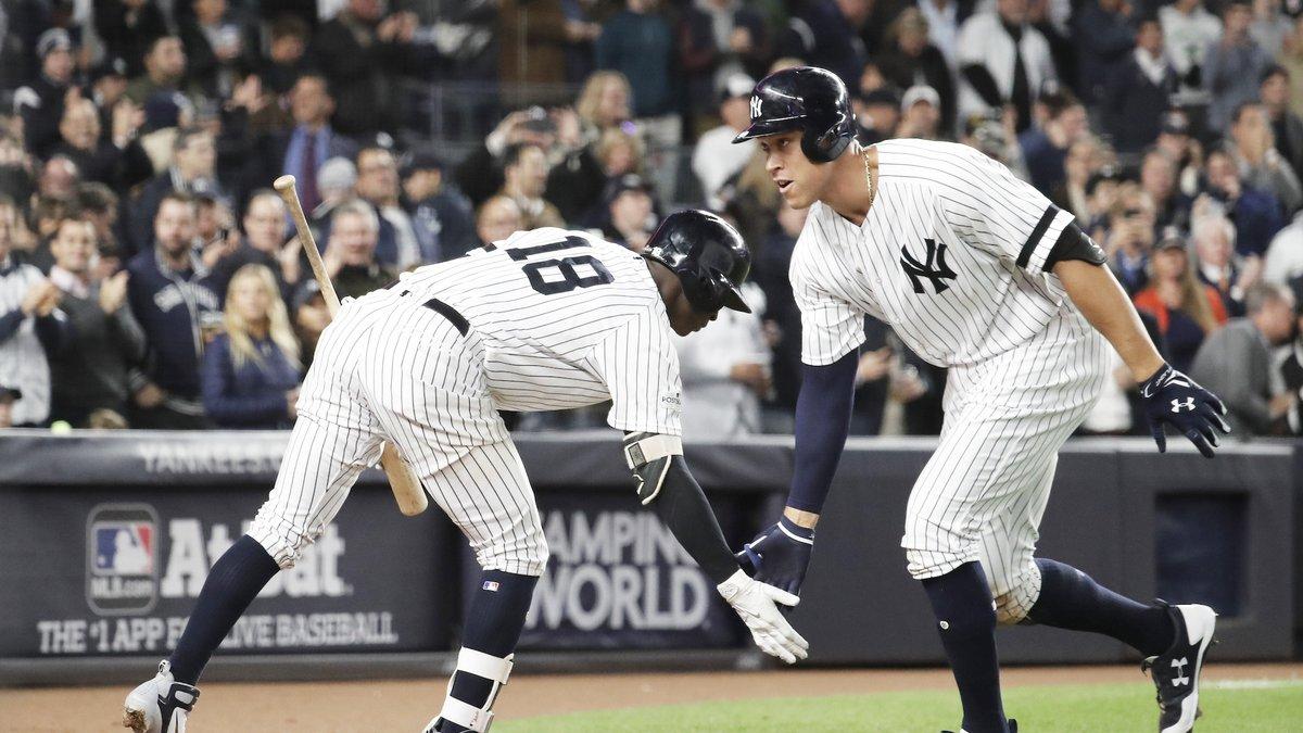 La ronda de campeonato entre Yankees y Astros está empatada 2-2