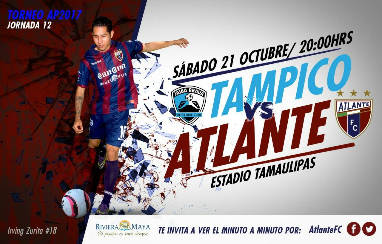 Tampico vs Atlante Ascenso MX en Vivo