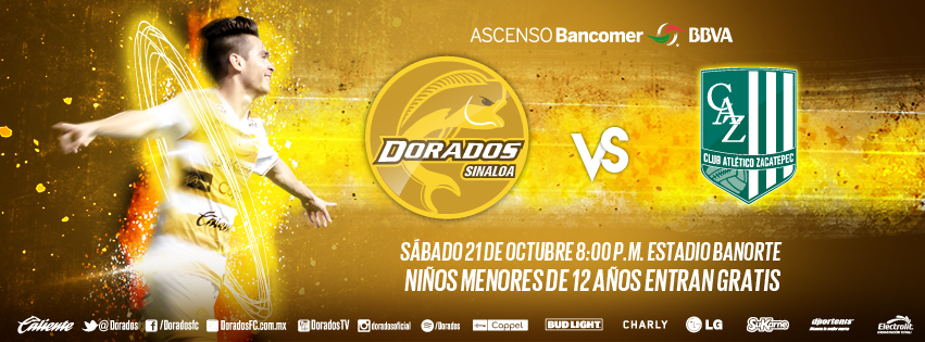 EN VIVO: Dorados de Sinaloa vs Zacatepec Ascenso MX jornada 12