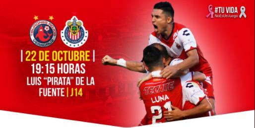 EN VIVO: Tiburones Rojos vs Chivas Jornada 14 Liga MX