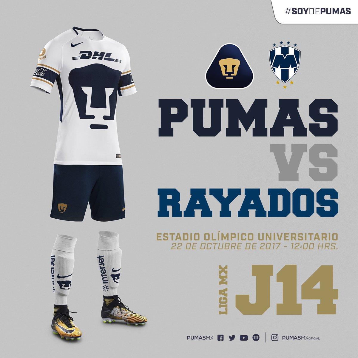 EN VIVO: Pumas vs Monterrey Liga MX Jornada 14