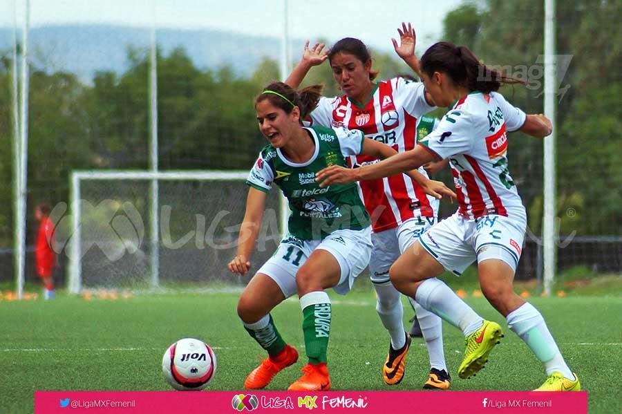 Necaxa en la Liga MX Femenil. Foto: Liga MX Femenil