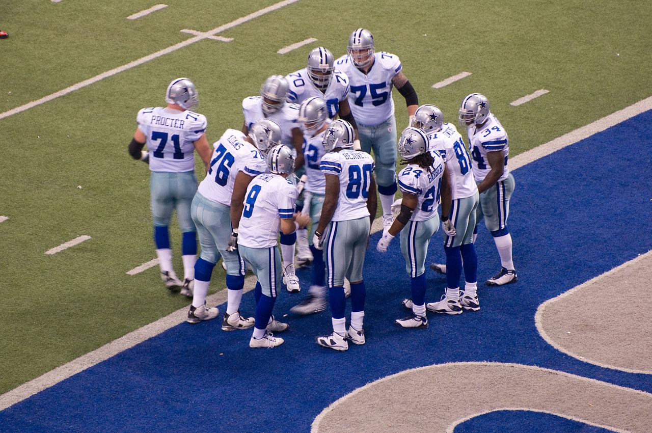 Dallas Cowboys. Foto: Cowboys/Wikimedia
