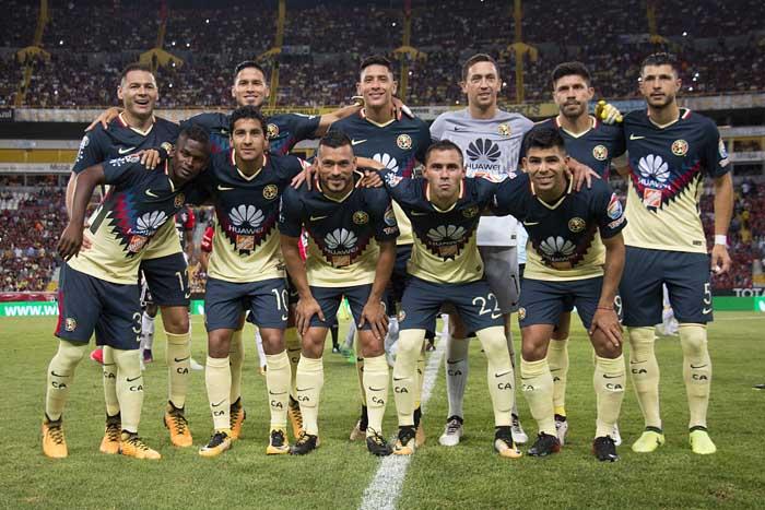 América en contra de Puebla. Foto: América/Liga Mx