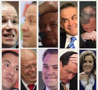 Muy probablemente alguno de estos personajes será el presidente de México el próximo año.