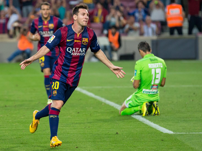 Barcelona en el Camp Nou. Foto: Messi/Wikimedia