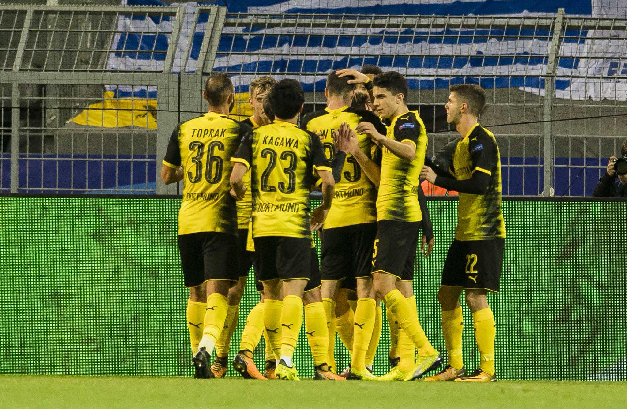 Borussia buscará ganar en casa. Foto: Borussia/Twitter: Borussia Dortmund @BVB