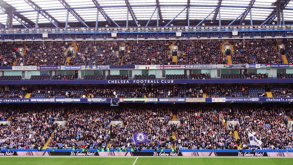 Chelsea recibe en el Manchester United. Foto: Stanford Bridge/Flickr