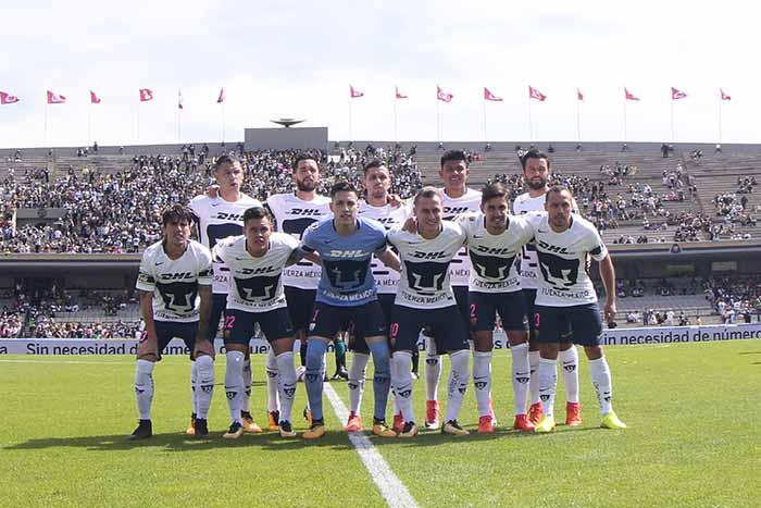 Pumas en Ciudad Universitaria. Foto: Pumas/Liga Mx