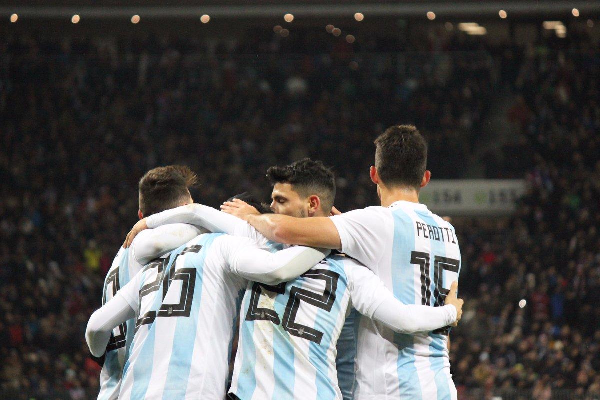 Argentina le gana a Rusia. Foto: Argentina/ Twitter @Argentina