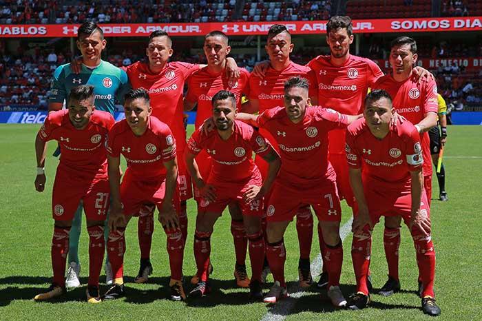 Toluca en cuartos de final. Foto: Toluca/Liga Mx