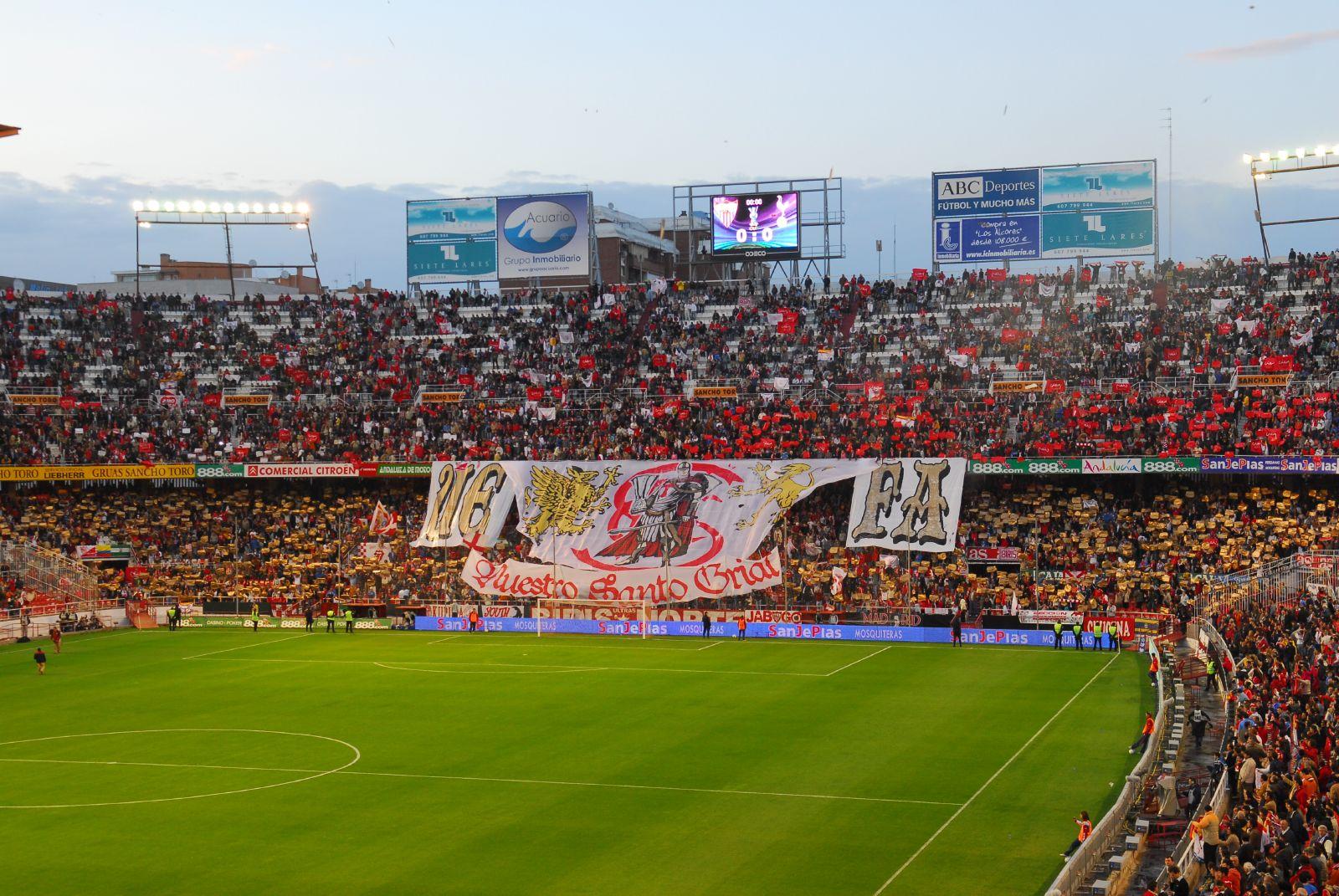 Sevilla recibe al Liverpool. Foto: Sevilla/Wikimedia