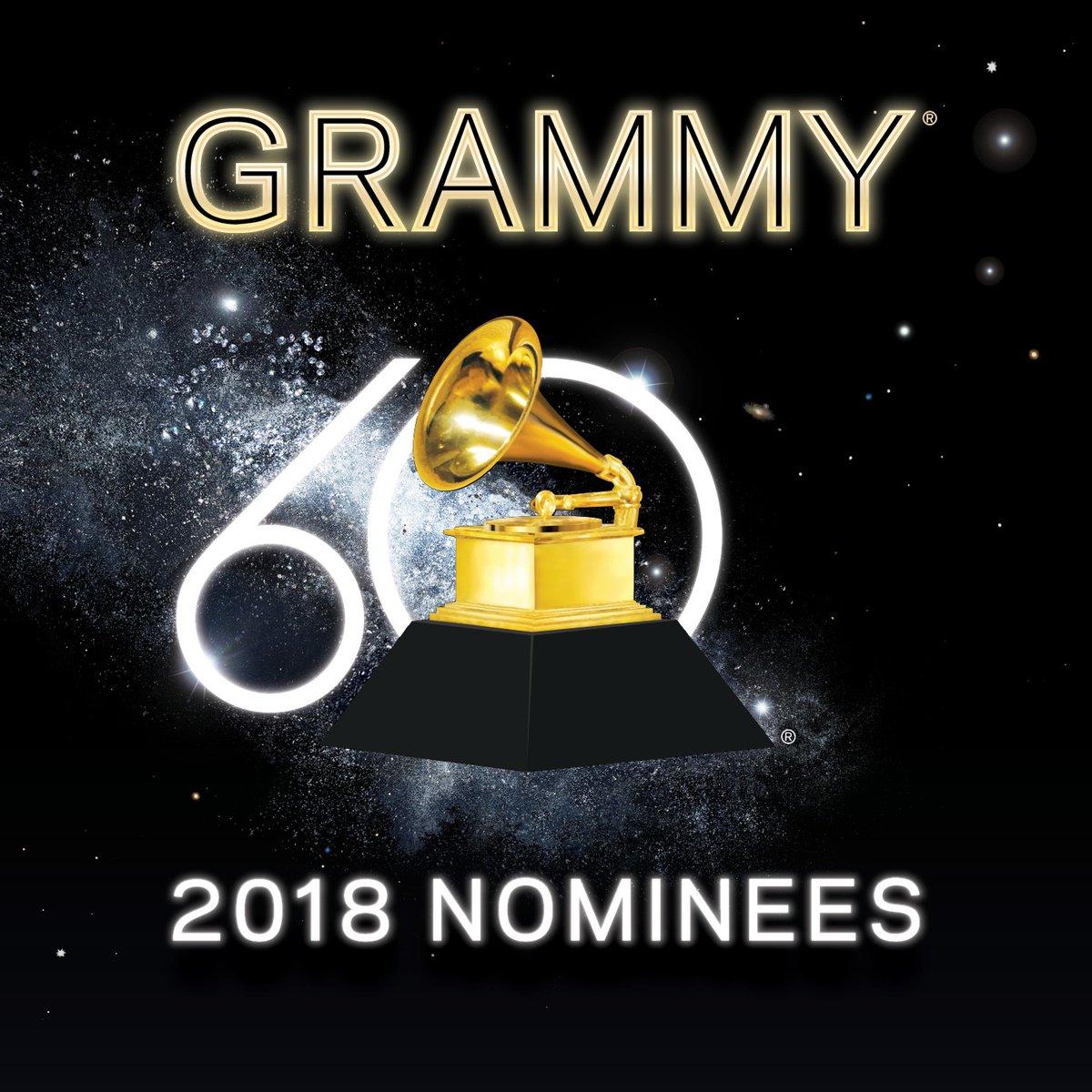 Nominados al Grammy 2018. Foto: Grammy 2018/Twitter @RecordingAcad