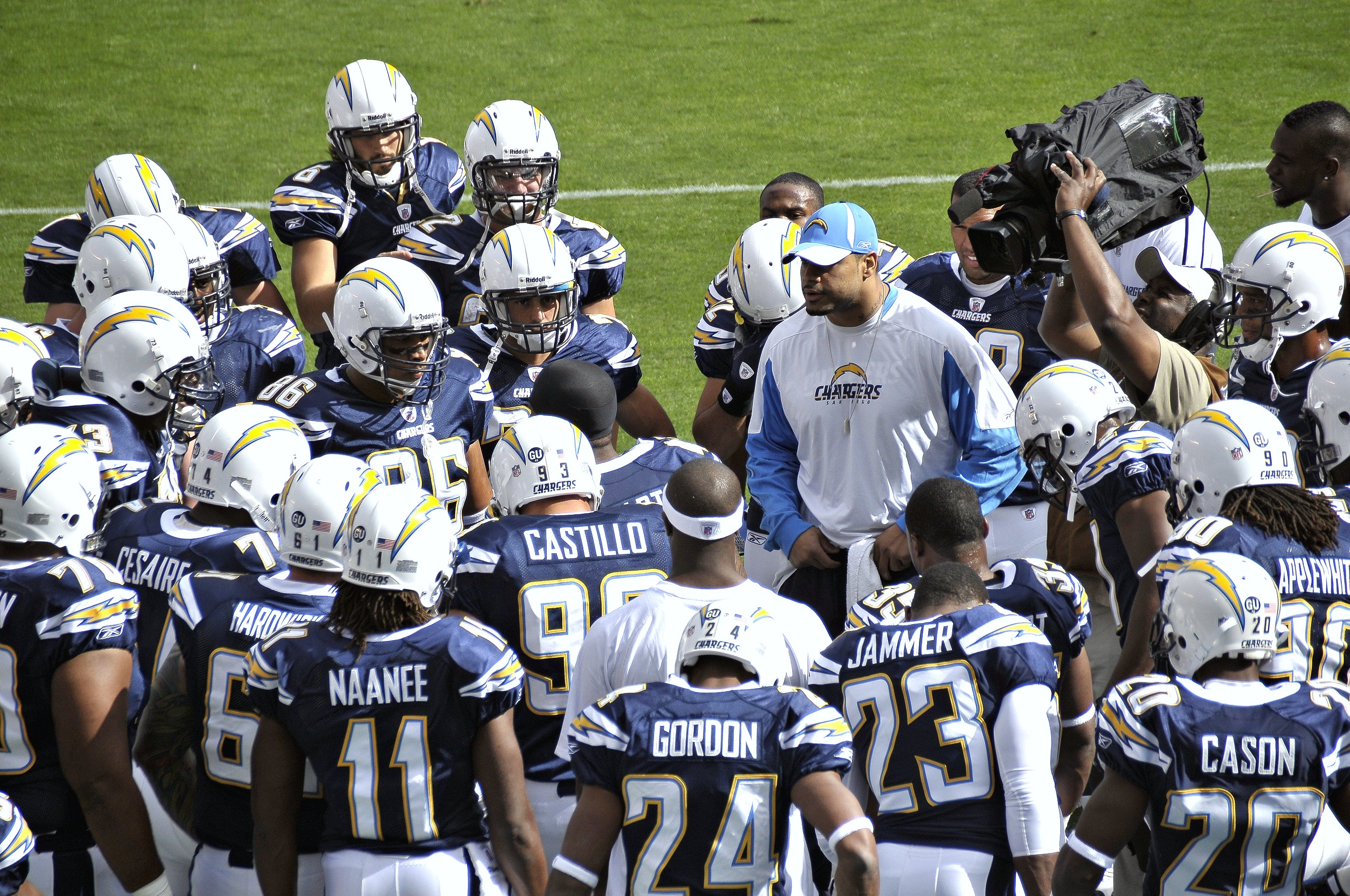 Chargers. Foto: Chargers/Wikimedia