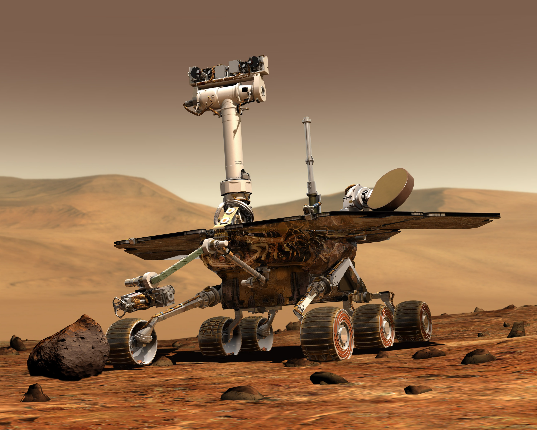 Explorador de la NASA en Marte