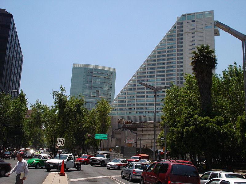 Avenida Reforma. Foto: Reforma/Wikimedia