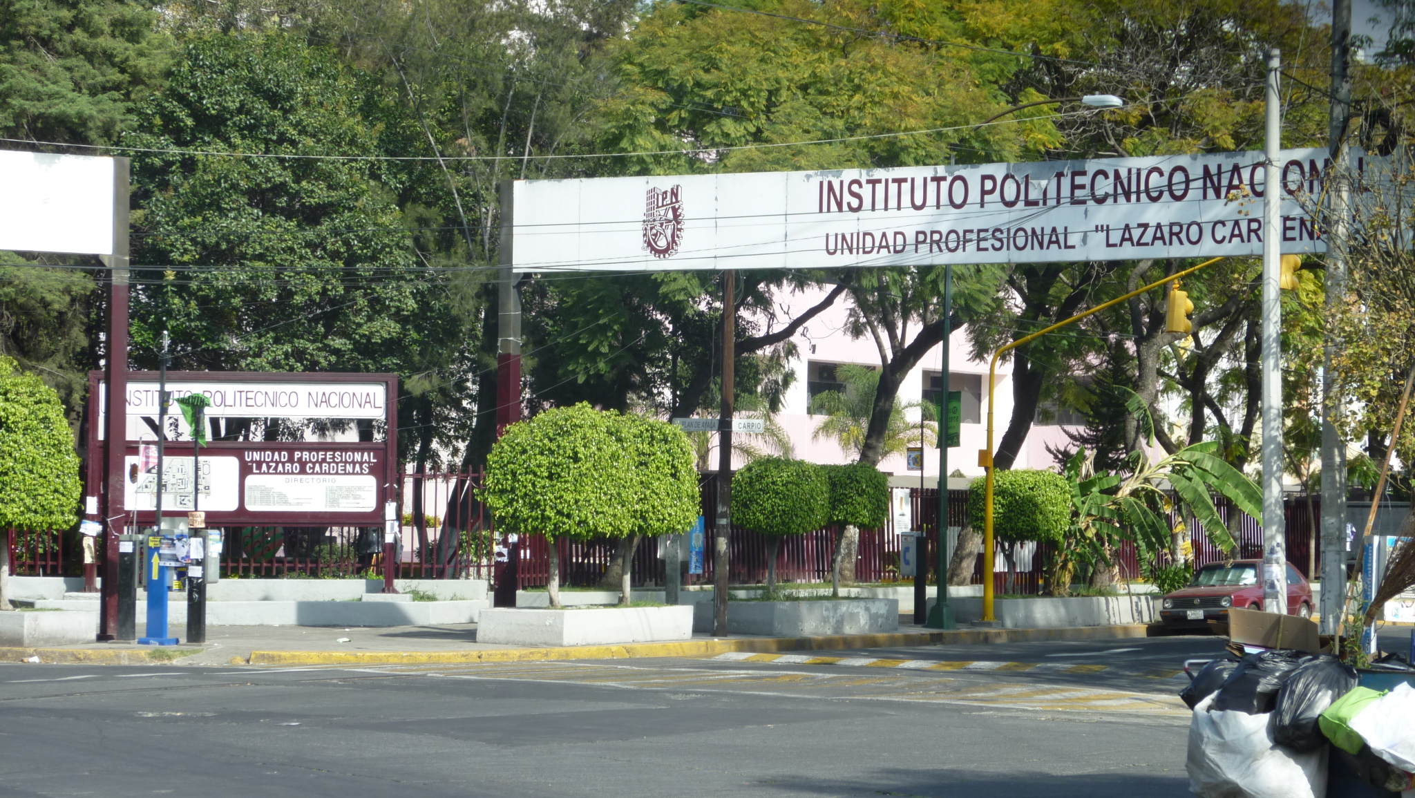 IPN Casco de Santo Tomás. Foto: IPN/Wikimedia