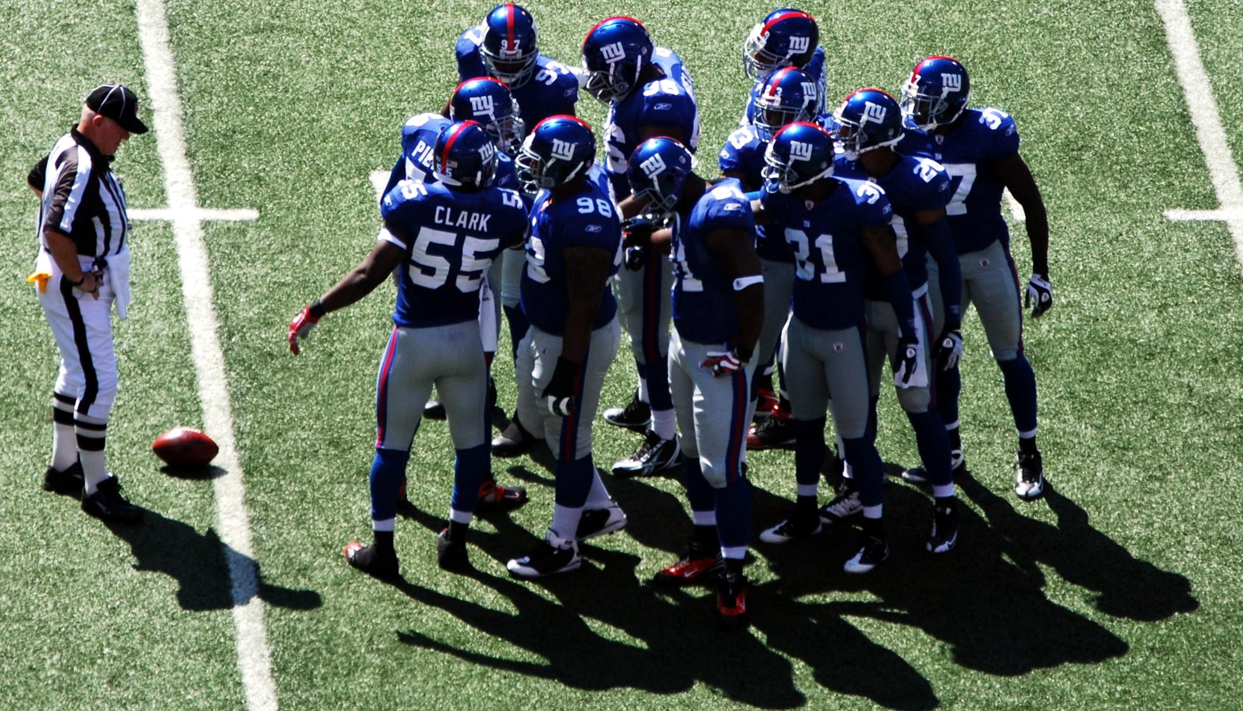 Giants, Nueva York. Foto: Giants/Wikimedia
