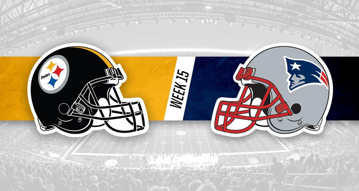 Nueva Inglaterra vs Pittsburgh. Foto: Pittsburgh/Twitter @steelers