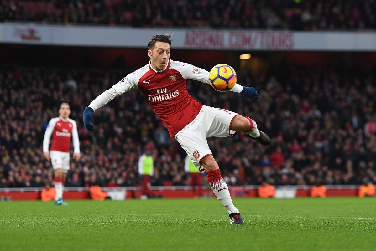 Arsenal. Foto: Mesut Özil/Twitter @Arsenal