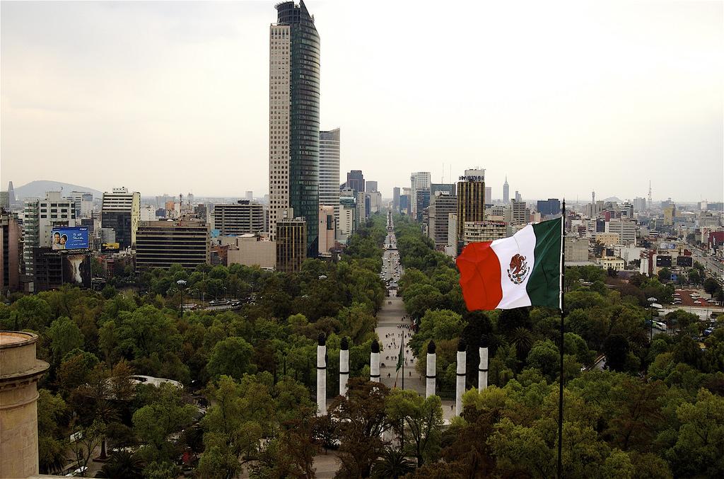 Paseo de la Reforma. Foto: Reforma/Flickr