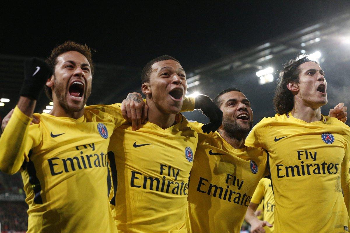 PSG. Foto: París Saint-Germain/Twitter @KMbappe