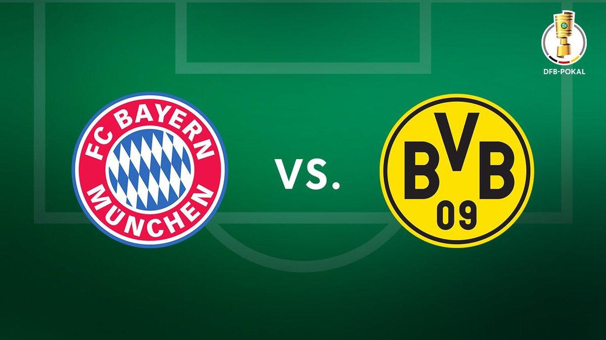 Foto: Bayen Munich vs Borussia Dortmund/Twitter @FCBayern_FB